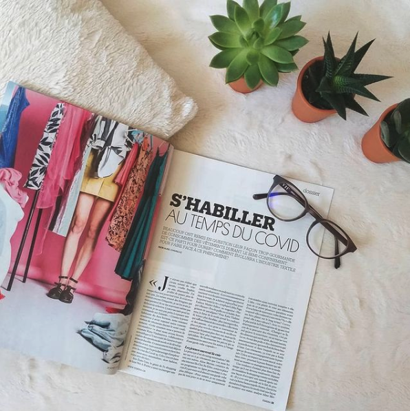 Article magazine femina août 2020