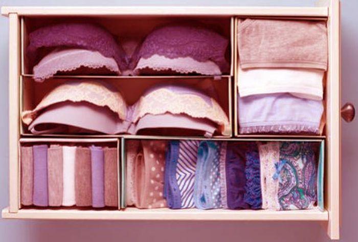 rangement sous-vêtements