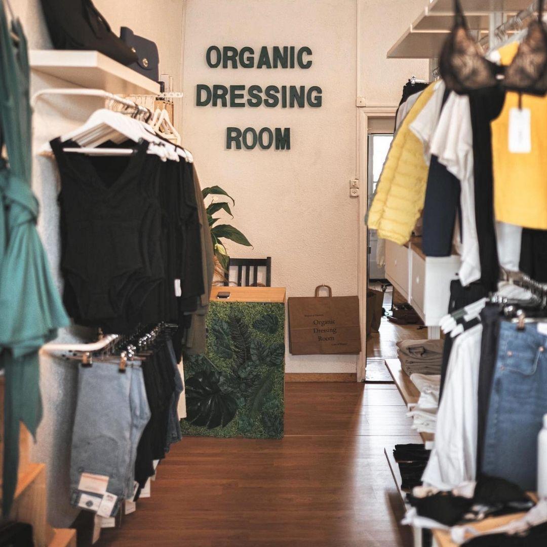 organic dressing room bulle